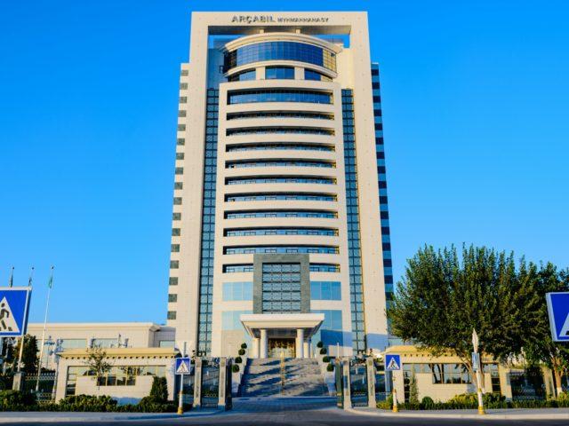 Archabil Hotel, Ashgabat, Turkmenistan
